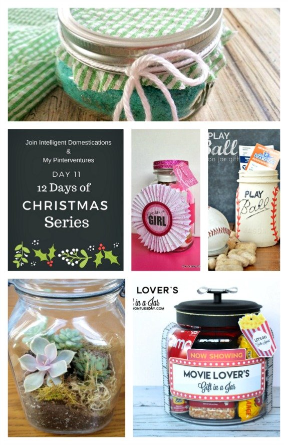 12 Clever Gifts in A Jar Ideas
