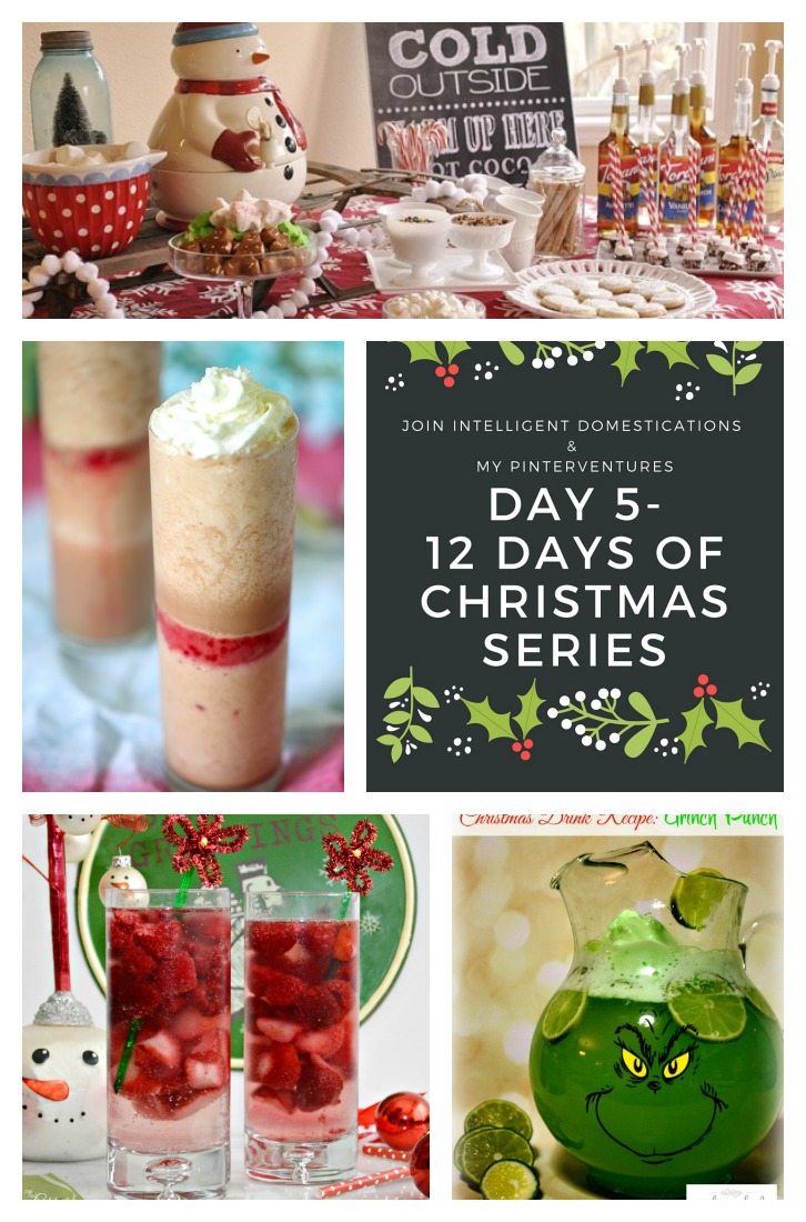 Day 5 of 12 Days of Christmas. Beverages.intelligentdomestications.com