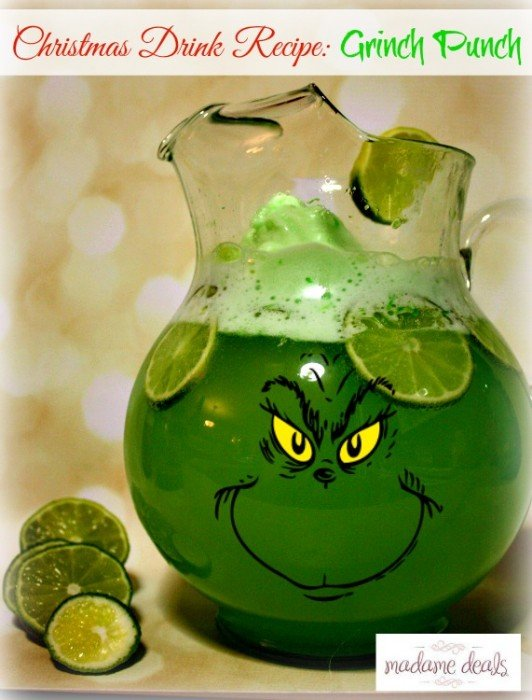 grinch punch from Madeamedeals-532x700