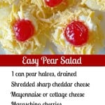 Easy Pear Salad.intelligentdomestications.com