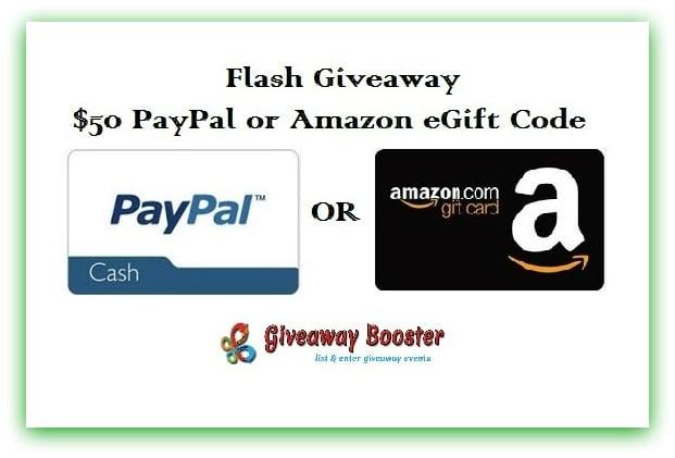 Weekend-Flash Giveaway