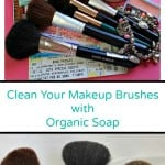 How to Clean Your Makeup Brushes with Organic Soap.intelligentdomestications.com