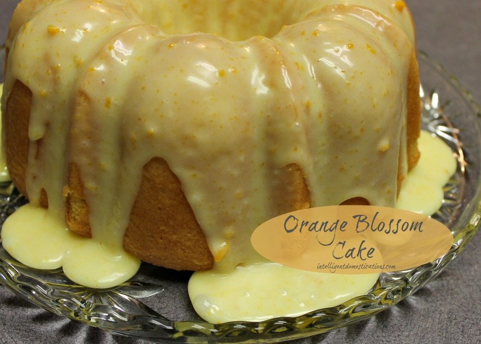 Orange Blossom Cake White Chocolate Ganache.intelligetndomestications.com
