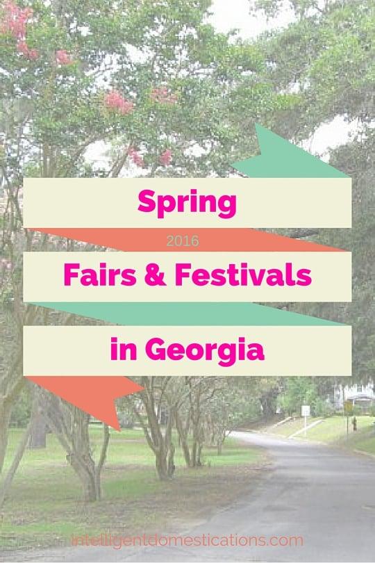 SpringFairs&Festivalsin Georgia