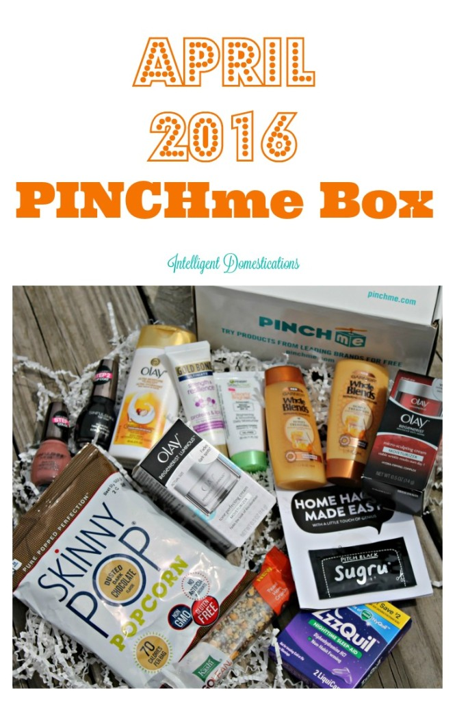 April 2016 PINCHme Box.intelligentdomestications.com