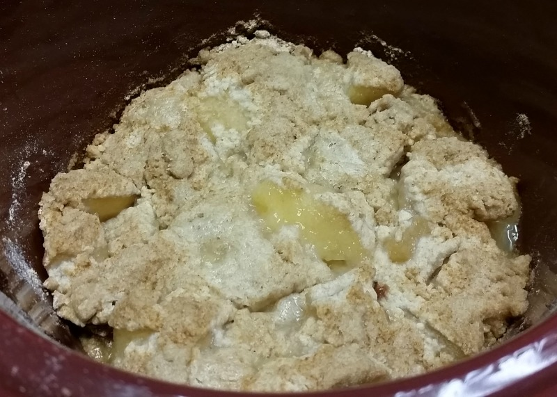 Cook on low approximately 2 hours, maybe less depending on your crockpot. 3 Ingredient Crockpot Apple Dumplings easy recipe at intelligentdomestications.com
