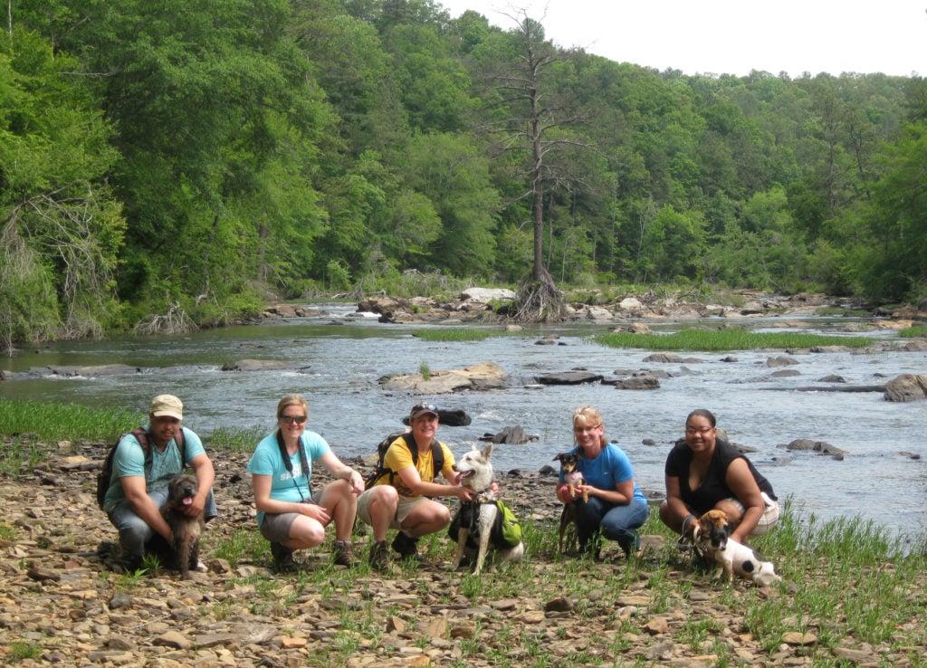 Sweetwater Creek SP dog hike