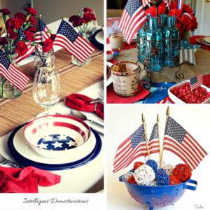 10 Patriotic Table Decor Ideas