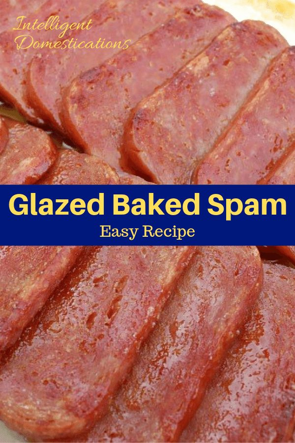 This easy recipe for Glazed Baked Spam has been gracing our dinner table for many years. It's a quick, easy and affordable weeknight entree with only 3 key ingredients. We serve it on a bed of rice.. #spam #recipe #weeknightdinner