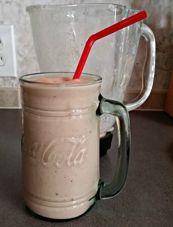 My favorite tropical fruit smoothie