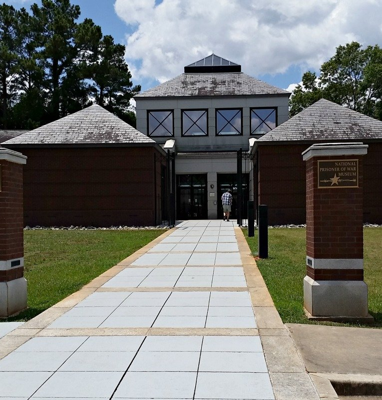 Visit the National Prisoner of War Museum at Andersonville, Ga. for a historical walk through history with some striking exhibits