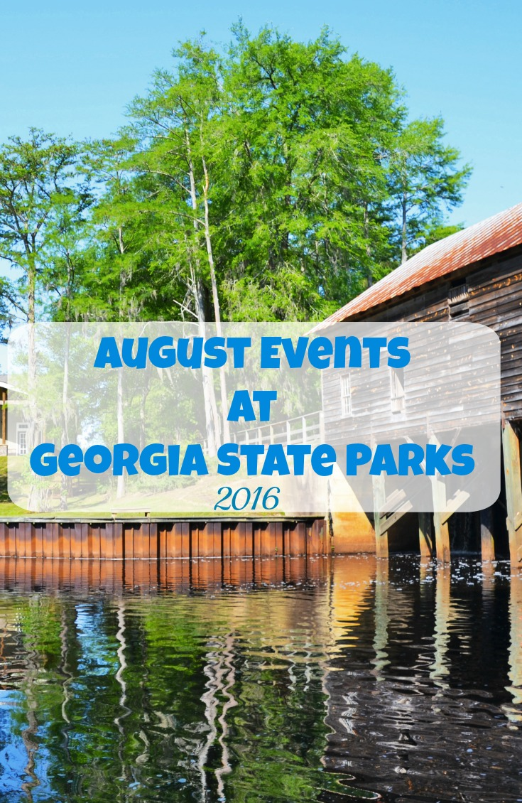 August Events at Georgia State Parks