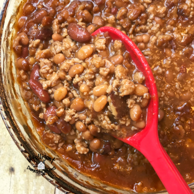 Best Ever BBQ Baked Beans with Bacon