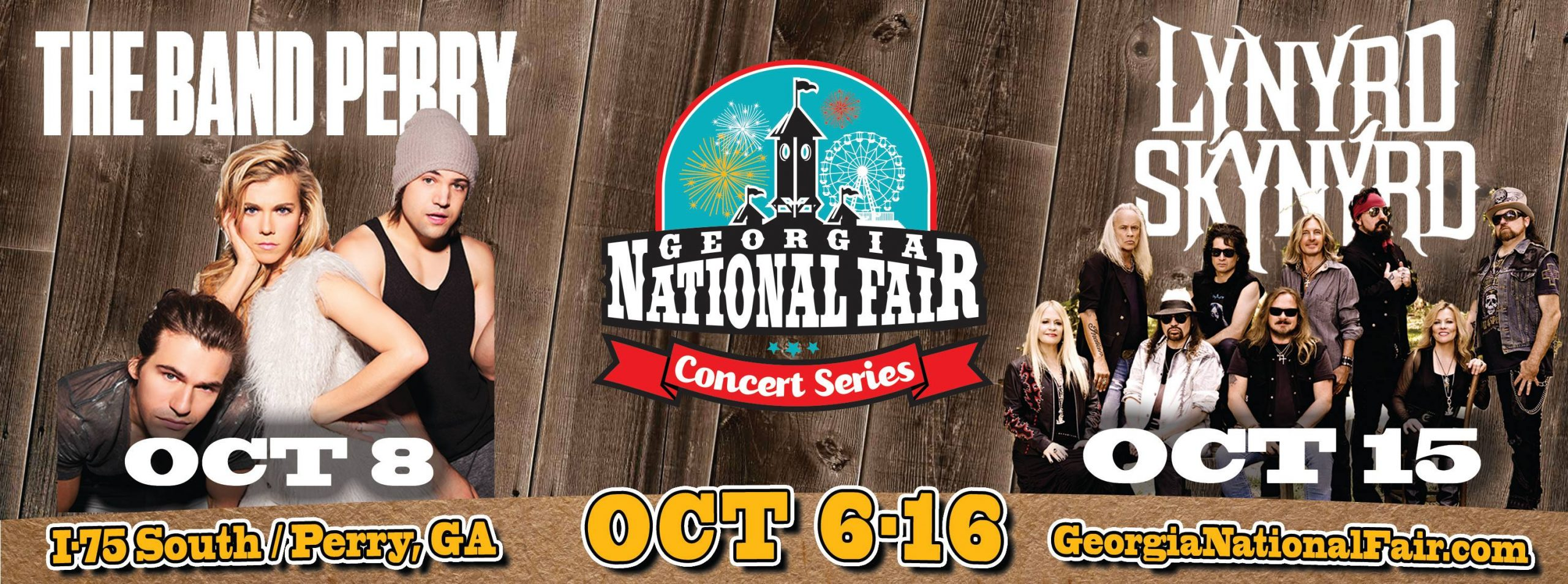 Georgia National Fair. Perry, Ga. Oct. 6-16 2016