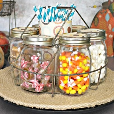 Farmhouse Style Fall Candy Bar