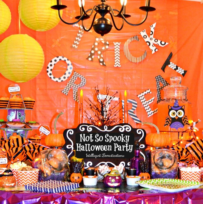 Not So Spooky Halloween Party Ideas. Affordable Halloween Party Ideas. Halloween Party Ideas #halloween