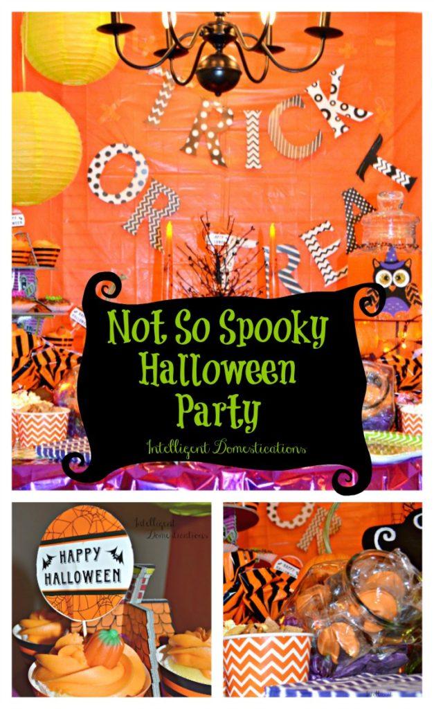 Not So Spooky Halloween Party Ideas. Halloween party.