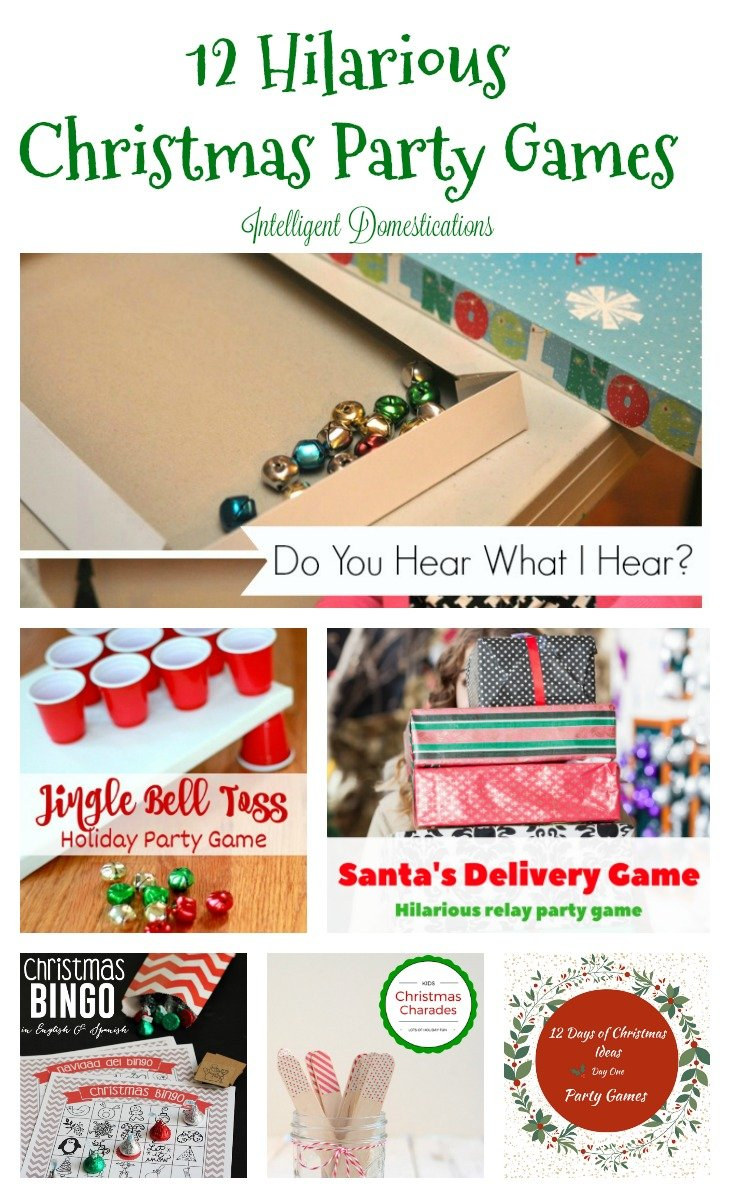 12 hilarious christmas party games is day one - Christmas Day Games