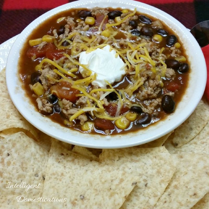 Crockpot Taco Soup recipe