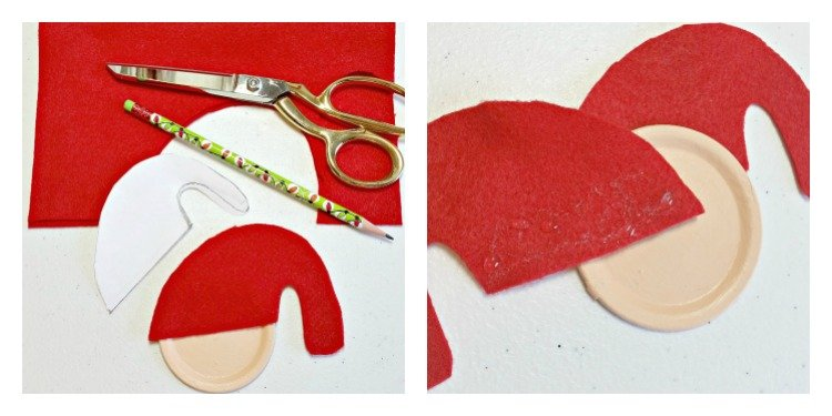 cutting-and-gluing-santas-hat
