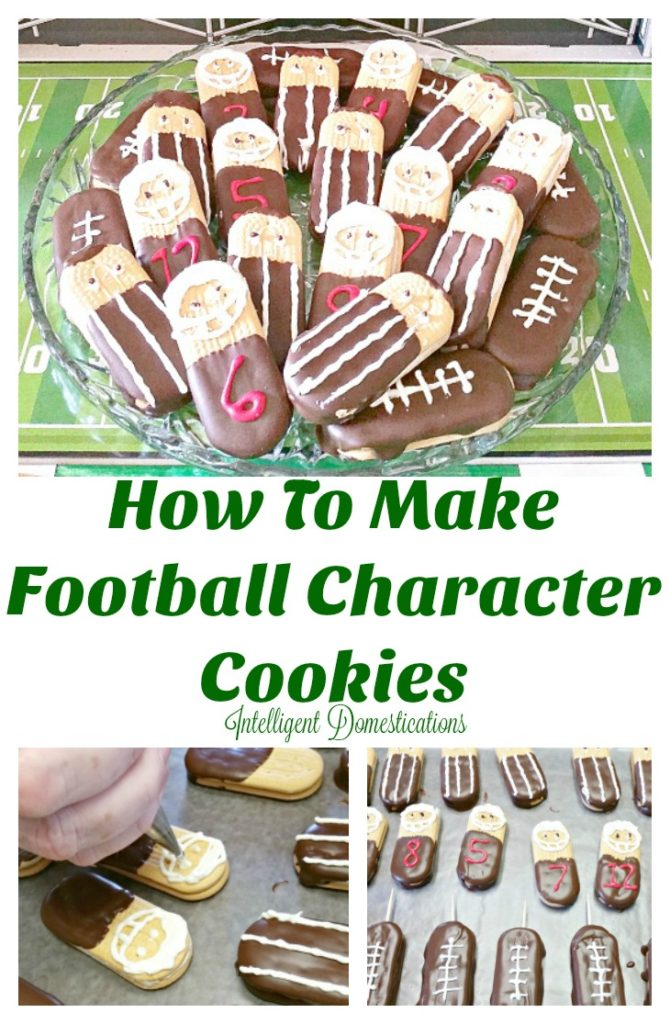 How To Make Football Character Cookies