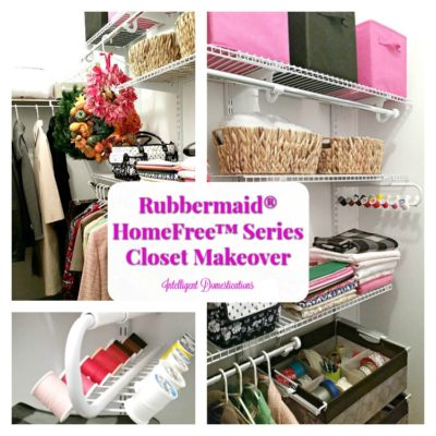 Closet Organization Made Easy With Rubbermaid HomeFree™ Closet Kits