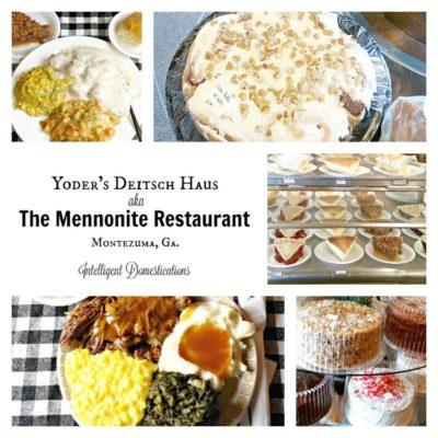 Yoder's Deitsch Haus Restaurant Montezuma Georgia
