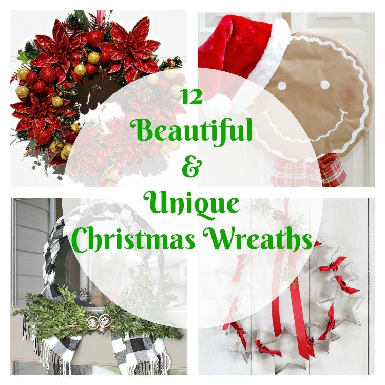 12 beautiful unique christmas wreaths intelligent domestications - Admirable christmas wreath decorating ideas to welcome the december ...