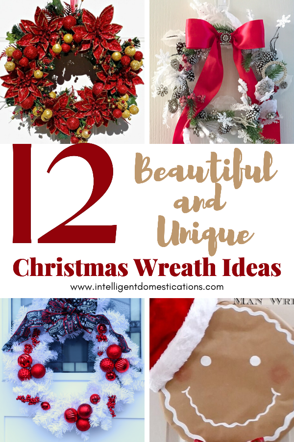 You can make any of these DIY Christmas Wreaths for your front door this holiday season. 12 DIY Holiday Wreath ideas