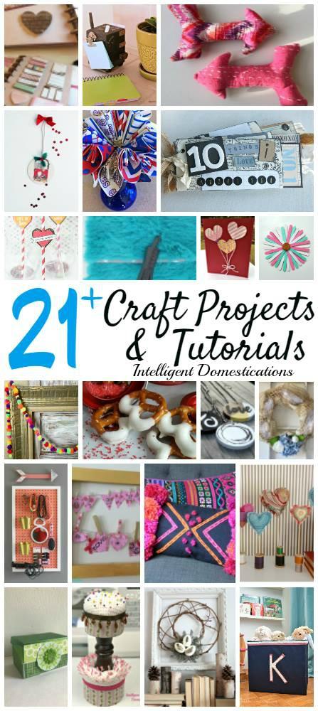 21+ Craft Projects & DIY Tutorials