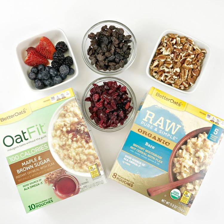 Healthy Breakfast Routine with our breakfast hack. Mason Jar Oatmeal brown bag breakfast.