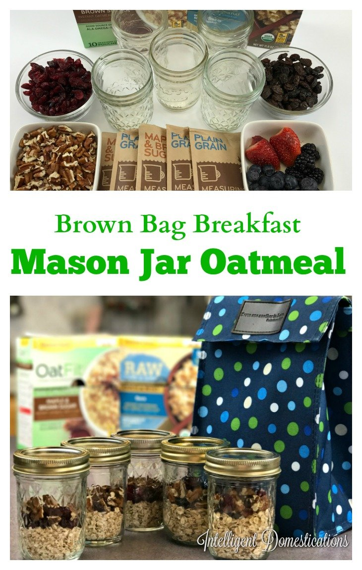 How to Brown Bag A Healthy Breakfast #breakfast