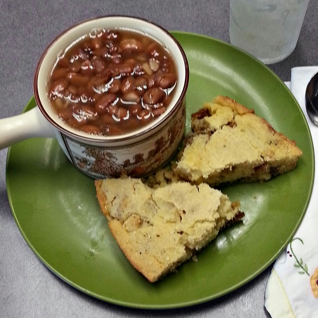 Pinto Beans and Cracklin Cornbread