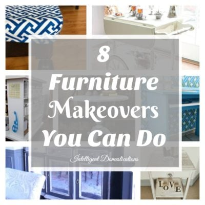 Eight Furniture Makeovers You Can Do & Merry Monday Link Party #146