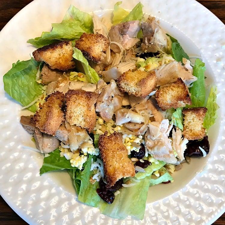 Chef Salad is on the menu plan this week.