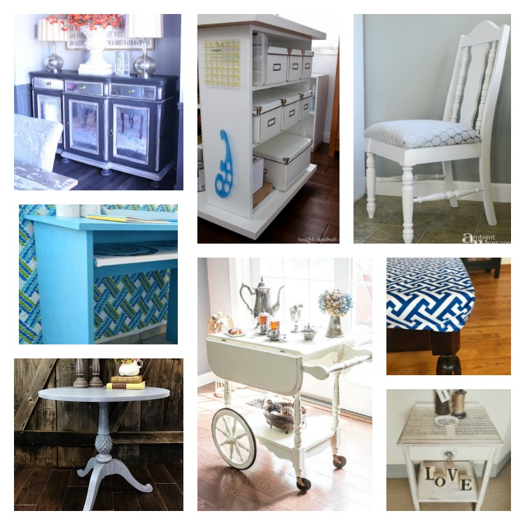 Eight Furniture Makeover Projects You Can Do