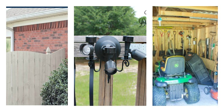 Merry Monday Features. Easy ways to spruce up your outdoor space