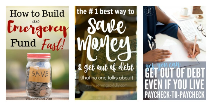 Financial management tips for the home. Features at Merry Monday Link Up