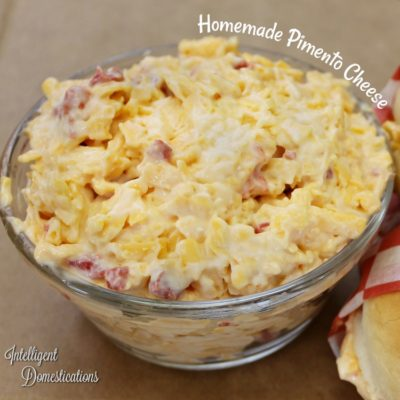 Made From Scratch Pimento Cheese Spread Recipe
