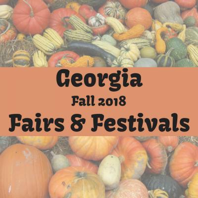 2018 Fall Fairs & Festivals In Georgia