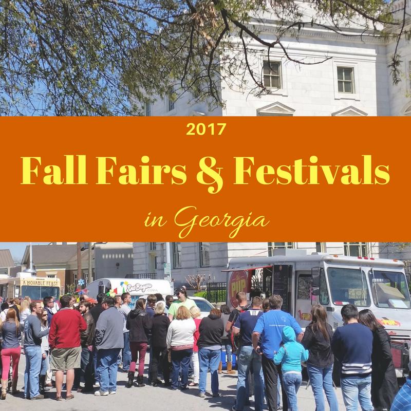 2017 Fall Fairs and Festivals in Georgia. Festivals in Georgia.