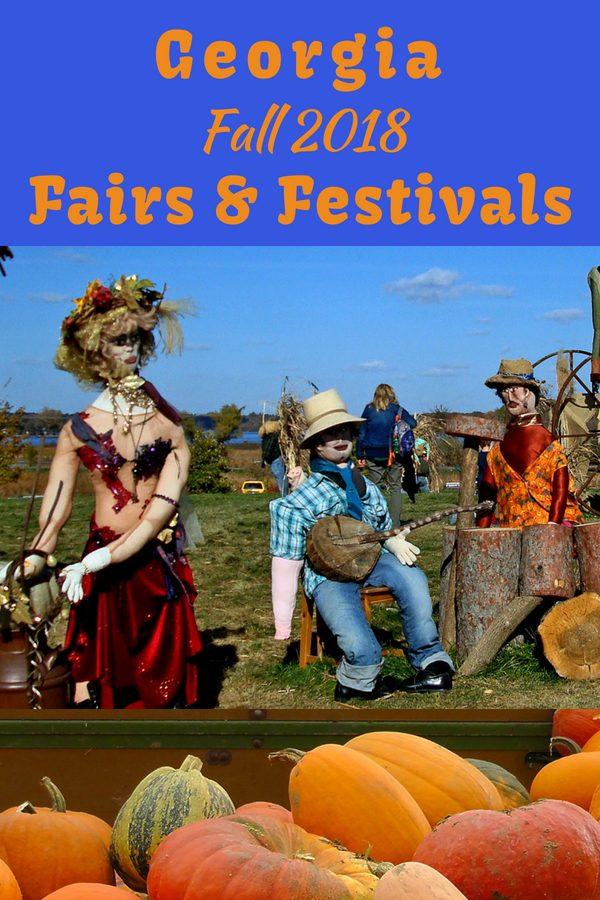 Fairs and Festivals in Georgia Fall 2018 #fallfestivals #exploregeorgia #georgiatravel