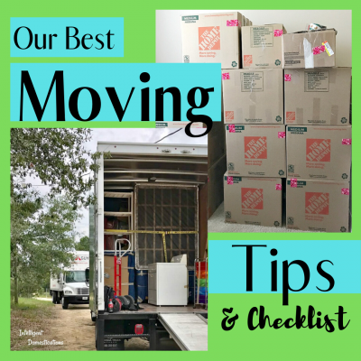 Our best moving tips complete with a checklist you can print