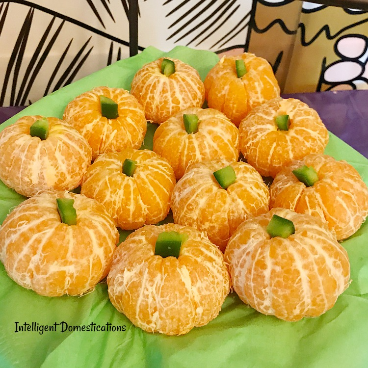 How To Make Cutie Pumpkins for your Halloween party.