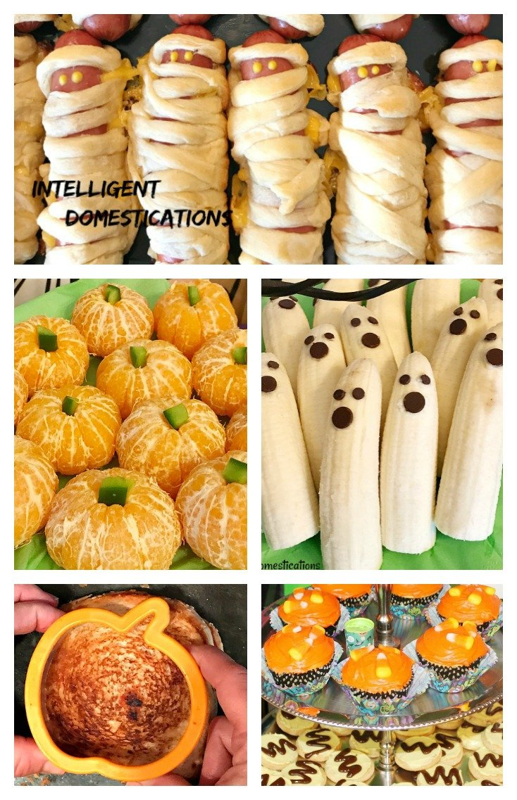 Six Super Easy Halloween Party Food Ideas. Easy Halloween Party Food Ideas. Halloween party food. Halloween.