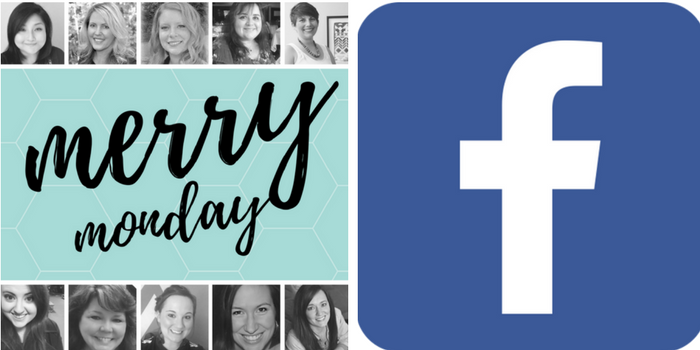Merry Monday Link Up Party Hostess Facebook Follow Month