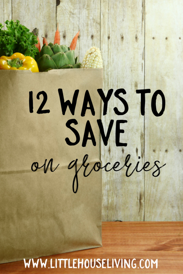 12 Ways to Save on Groceries. Featured at Merry Monday Link Up party.