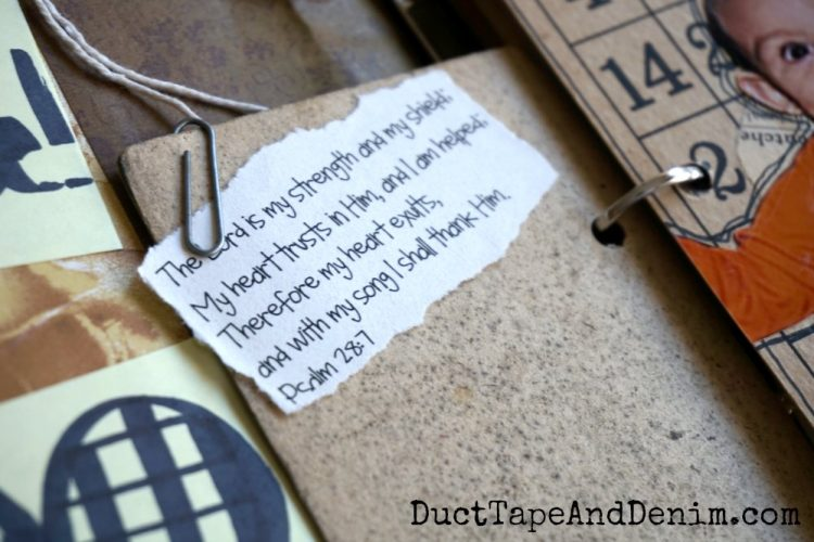 How to Make A Gratitude Journal. Featured at Merry Monday Link Up Party