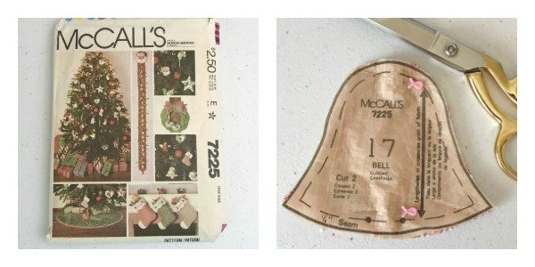 How To Sew Your Own Brocade Bell Ornament