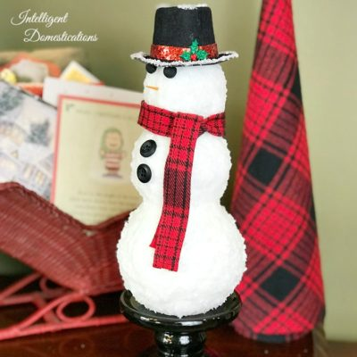 How To Make An Authentic Looking Snowman Craft